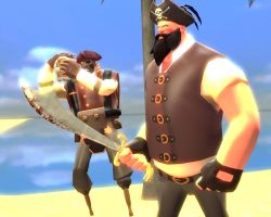 Black Beard Heavy the Pirate by Speavy