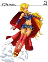 Ame Comi Supergirl Color by FrankDurden