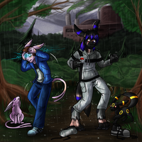 Rain on our Parade 4/6 by Keetah-Spacecat