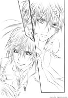 Vampire Knight Lineart by Hime-sOph