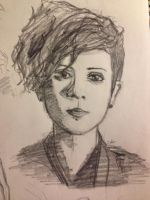 Tegan Quin from Tegan And Sara by SheepTheJuggalo