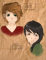 Meet James and Alex by Evalisious8D