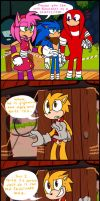 Sonic Boom: Leave Knuckles alone!!! by HoshiNoUsagi