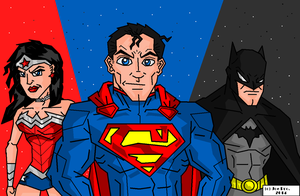 JoeProCEO's Justice League Trinity 2014 by JoeProCeo