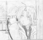 Edward Elric on the Phone :D by EdwardElricx101