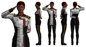 Outfit: Alliance Red and Black by Just-Jasper