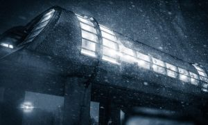 Urban Snow - Alien Station by 10thapril