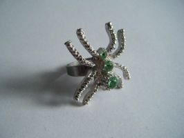 Spider Ring by letmeusemyname