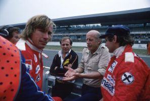James Hunt | Niki Lauda (Germany 1977) by F1-history