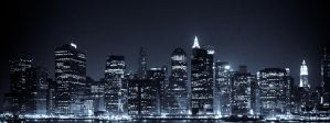 Lower Manhattan Skyline by galleleo