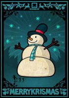 biggest snowman by mclelun