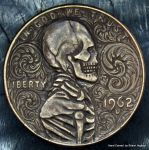 Lincoln Penny Scrollwork Skeleton by Shaun Hughes by shaun750