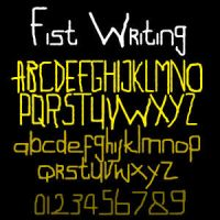 Fist Writing by dustcrawler