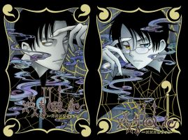 XxXHolic Splash page by quivix
