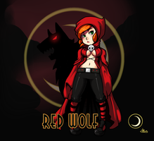 Red Wolf by rabbitsontherun
