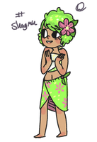 Shaymin Gijinka Adopt!CLOSED by hanecco