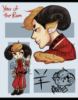 Year of the Ram Auction [Closed] by BearilyThere