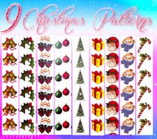 Christmas Patterns by LexiVonEerie