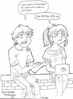 Sam+Astrid- GONE Sarcasm by SwiftstarDawn