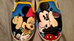 Mickey and Minnie Mouse Shoes by BreannaKayEvans