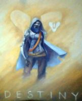 8X10 Destiny painting by SupremacyRain