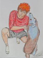 Ichigo and Nutmeg Colored by AreteEirene