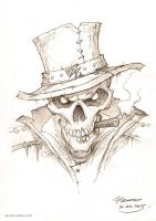 Bone detective. By bone, by skull, by justice! by YanmoZhang