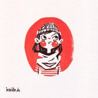 mini animated print (GIF) by Iraville