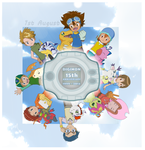 Digimon 15th Anniversary by CherrygirlUK19