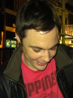 Jim Parsons in NYC by ithankuall