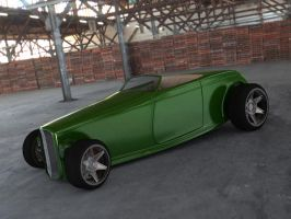Ford '32 HiBoy Roadster 1 by LucianP