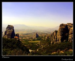 Meteora rocks by kos5tas