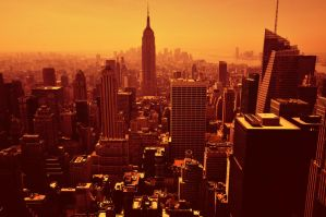 Manhattan Skyline 15051008 by StockProject1