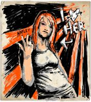 Hayley Williams by FlashElectron