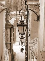The Old Town and old lamps by Fru1988