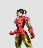 Iron Girl by ankh22