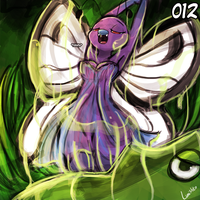 (Pokemon National Dex Project) - 012 Butterfree