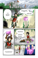 COMMISSION: Princess of Heart - Page One by FieryJinx