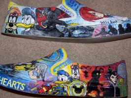 Kingdom Hearts Shoes 12 by DevilWillPay10