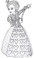 Burton's Queen of Hearts by Nonsensicle