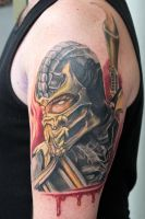 scorpion tattoo by graynd