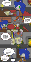 Comic 9 of Count Shadow by DominotheFembot
