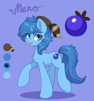 Ref gift for Meno by OrchidPony