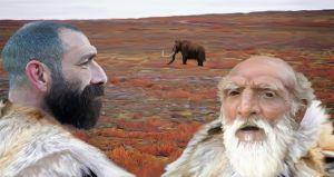 Neanderthal Father and Son by philip72