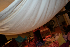 Our Little Fort ^-^ by courtneyrodgers