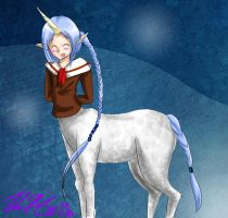 Unicorn centaur by TheReza13