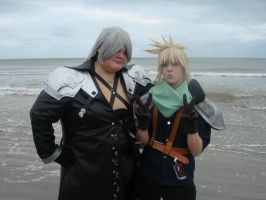 Meeting Sephiroth by CursedCrusnik