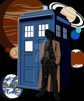 Doctor Who vector by Aerindarkwater
