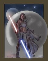 Gray Jedi Sok 'Anon by Drawntome