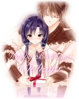 Happy Birthday Chihaya by lunaticjoker